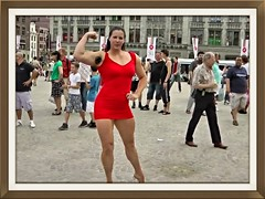Tall Muscle amazon woman (gmunchow) Tags: woman mixed amazon muscle wrestling tall tallgirl strongwoman tallwomen tallwoman fbb tallgirls mixedwrestling liftcarry