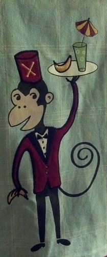 Monkey Wearing a Fez