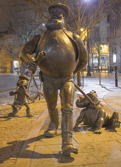 Desperate Dan (garyth2012) Tags: city light dan square scotland exposure quiet dundee angus centre tay desperate midnight beano tayside dandy