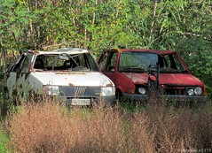 Graveyard (Alessio3373) Tags: abandoned rust graveyards neglected rusty rusted junkyard scrap abandonment corroded rustycars unloved unused junkyards rustycrusty scrapped abandonedcars scrapyards junkcars scrappedcars autoabbandonate