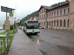 003 - 09-07-25 Bad Schandau Bahnhof Bus 121 - 04 (tramfan239) Tags: man bad elbe badschandau schandau kirnitzschtal kirnitzsch kirnitzschtalbahn sg292 ovps