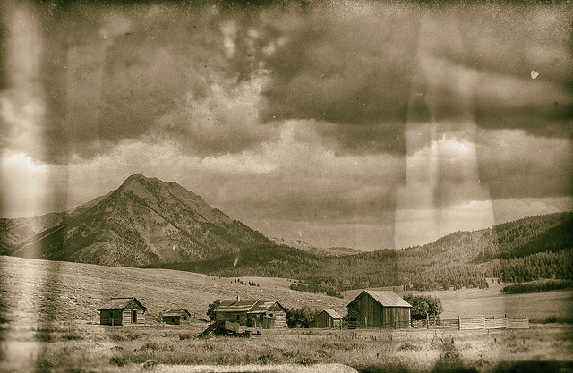 Old homestead, Beaverhead County, Montana