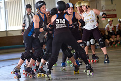 scdg_vs_badg_L3404319 1 (nocklebeast) Tags: ca usa scottsvalley rollerderby rollergirls skates allstars badg thepenthouse scdg boardwalkbombshells