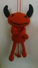 Roter Teufel. Made by me. Made by hand. (Thema hkeln_Boe) Tags: crochet devil amigurumi teufel hkeln mrsdevil