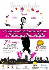 Cartel (patinarensalamanca) Tags: freestyle salamanca campeonato 2016 cyl patinar boecillo