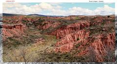 Teruel formaciones de arcilla (Joaqun Galindo MIlin) Tags: espaa art spain rojo arte teruel aragn arcilla valdecebro joaqungalindomilin