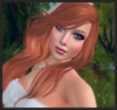 Good to be Red <3 (Morrigan Outlander) Tags: logo outside truth avatar redhead secondlife virtual reign maitreya frisland catwa larahurley paperarrow