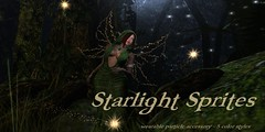 Starlight Sprites (colemariesoleil) Tags: fashion forest effects lights secret magic special sl fairy fantasy secondlife particle druid sprites affair particles fae starlight the
