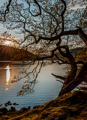 Lough Dan Sunset: Explored 19 May 2016 (Kevin_Barrett_) Tags: ireland sunset lake water landscape scenery scenic serene picturesque wicklow