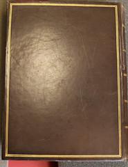 Binding from Penn Libraries  QD25 .A78 1652 (Provenance Online Project) Tags: london binding 1652 pennlibraries pennlibrariesqd25a781652 edgarfahssmithcollection ashmoleeliased jgrismondfornathbrooke