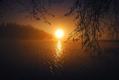 (Sameli) Tags: sunset sea sun nature water suomi finland landscape evening helsinki calming calm