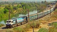 Coimbatore - Mumbai Express (AyushKamal2014) Tags: kamshet 20040 kjmwdp4 coimbatoremumbailttexpress