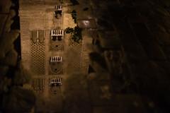 Torre della Giralda (andrea.sereno82) Tags: light reflection water sevilla spain pov giralda notte luce spagna lampione riflesso illuminazione siviglia