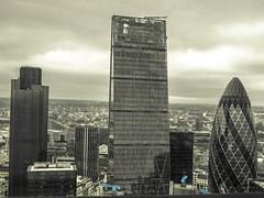London,  city of london (LUIS FELICIANO) Tags: city london edificios exterior ciudad olympus londres nublado 1001nights cityoflondon e5 rascacielos reinounido airelibre unitedkingdon lent1122mm