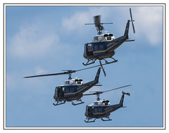 United States - Bell UH-1 Iroquois Hueys (Crested Aperture Photography) Tags: airshow huey helicopter airforce iroquois andrewsairforcebase campsprings jointservicesopenhouse2015 bellhueyuh1iroquois