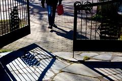 Shadows Hff (evisdotter) Tags: spring gate shadows candid grind mariehamn hff skuggor