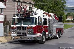Altoona FD 351 Spartan Ladder Truck Web (DFaustAltoona) Tags: truck fire ladder department spartan altoona 351