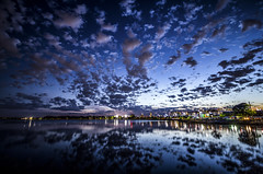 Castle Island Sunset (TomBerrigan) Tags: castle weather boston clouds island massachusetts