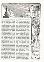 Time to sweep the cobwebs out of your mental horizon (katinthecupboard) Tags: 1913 nurseryrhyme vintagewomensmagazine vintageperiodical oldwomanoldwoman advicetomothers