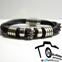 skull bracelet (mohammedalduais) Tags: new boy love girl skull like arab bracelet share comment beginner