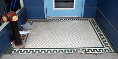 3-MosaicDoorstep (T's PL) Tags: virginia nikon mosaic ii va di tamron vc richmondva 18270 f3563 pzd d7000 tamron18270 nikond7000 tamron18270f3563diiivcpzd mosaicdoorstep