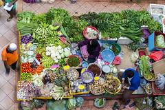 fresh vegetable trader (sydeen) Tags: people food woman color wet fruit shopping asian asia raw market sale muslim traditional culture lifestyle stall vegetable fresh business malaysia customer local bazaar sell trade kota malay khadijah siti kelantan bharu