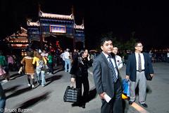090915 Beijing-05.jpg (Bruce Batten) Tags: china people night cn beijing trips subjects locations occasions urbanscenery beijingshi friendsacquaintances businessresearchtrips