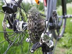 2016 Bike 180: Day 132,  June 4 (olmofin) Tags: bicycle lumix chain 20mm cogs derailleur f17 cogset 2016bike180