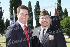 Art Leal & Rep Brooks Landgraf (Art Leal) Tags: art tribute brooks veterans leal landgraf