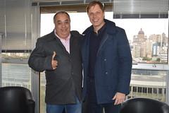 Secretrio com candidato a prefeito Evandro Heberle de So Jernimo (Lucas Redecker) Tags: sme secretrio sojernimo lucasredecker