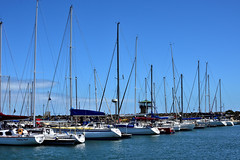 MLB_7026 (craig_thompson) Tags: ocean blue sky sailboat boat yacht melbourne sail stkilda