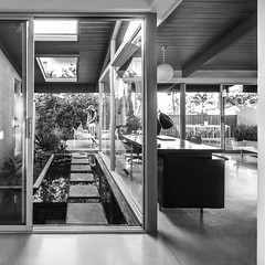 McKellar Residence (Chimay Bleue) Tags: homer delawie modern san diego carmen pauli todd pitman mckellar wood house residence la jolla shores lajolla sd architecture home black white bw
