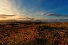 The Urie {explored} (-Rodbod-) Tags: travel sky mountains clouds landscape evening scotland countryside nikon hills arran isleofarran moorland lamlash goatfell hillwalking ayrshire travelphotography westcoastofscotland urieloch nikon1835g nikond750 theurie