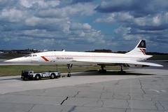 G-BOAC-1-EGLL-SEP1988 (Alpha Mike Aviation Photography) Tags: heathrow concorde britishairways lhr bac londonheathrow aerospatiale egll gboac
