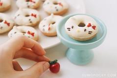Hello Kitty Donuts (Cinnamon Baked Donuts) (Erika Low Yue Huan) Tags: food cooking japan recipe baking hellokitty sanrio donuts donut doughnut kawaii foodphotography cutefood sumopocky