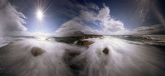 By river and sea (wheehamx) Tags: river pinhole ayr blend portencross