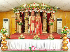 Manavarai_Wedding_Decorations (15) (lotusmanavarai) Tags: manavarai wedding jaffna settee back hall lotus nallur tamil hindu traditional