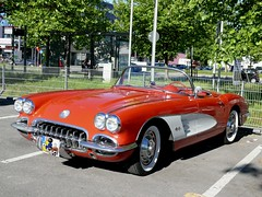 Chevrolet Corvette C 1 1959-1960 4000 ccm 230 PS (ludmillafan132) Tags: auto cars chevrolet car oldtimer autos oldcars 1959 oldsmobile 1960 c1 alteautos kraftfahrzeuge fahrzeugausstellung beautifuloldtimer