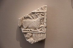 Stone Relief from Archaic Period of Sumer, 2900-2340 BC (Gary Lee Todd, Ph.D.) Tags: france louvre paris ancient neareast
