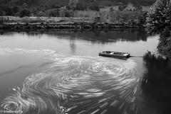 Centrifugal force (IrreBerenT) Tags: boat longexposure cantabria irreberentenataliaaguado water sea landscape blackandwhite blancoynegro bn bnw bwn bw barca centrifuga centrifugalforce