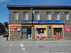 Depanneur on St-Antoine (Vanishing Montral) Tags: history villedemontreal montreal histoire photography art architecture demolition disappearinghistory newconstruction