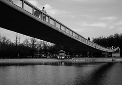 The bridge (fiffo1892) Tags: travel bridge urban blackandwhite bw 35mm scenery sonynex
