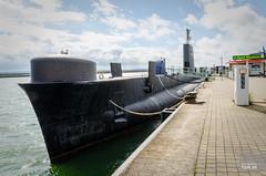 Submarine HMS Otus docked in Sassnitz (hjakse) Tags: germany deutschland submarine rgen tyskland nato coldwar mecklenburgvorpommern royalnavy uboot ubt sassnitz s18 hmsotus oberonclass unterseebot
