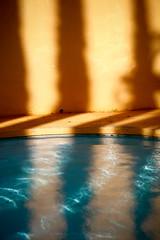 Poolside (the Halfwitboy) Tags: life family vacation woman sun pool girl female swimming bag fun island hawaii islands rocks colorful oahu vibrant bra sunny cliffs luggage lei souvenir hawaiian swimsuit aloha islandlife