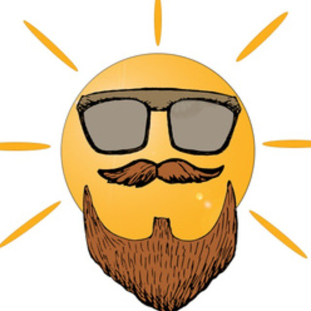 Keep those beards safe out in the solar eclipse today folks! Enjoy it safely and dont look directly at it. It will not give your beards magical or super powers, they already have them!!! #stayboss #staybearded #staybossstaybearded #beards  #beardporn #bea