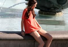 Love 42 (tezzer57) Tags: uk red summer guy london love girl candid trafalgarsquare teens londonist summerof2014