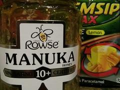 73/365 - Cold kit (Spannarama) Tags: cold march honey jar 365 flu lemsip manukahoney