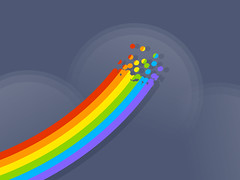 Rainbow Laptop Backgrounds Free (tapeper) Tags: rainbow laptop free backgrounds