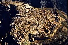 Grce, vacances de Pques 1987. Mycnes, l'acropole (Marie-Hlne Cingal) Tags: 1987 greece grce  hells  diaponumrise