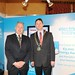 Showtel Kevin Molloy Electric Ireland and Stephen McNally, IHF President
